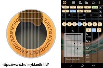 Aplikasi android untuk belajar gitar