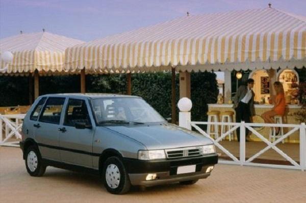 Ficha Técnica Fiat Uno SCR Tipo 1.6 (1993)