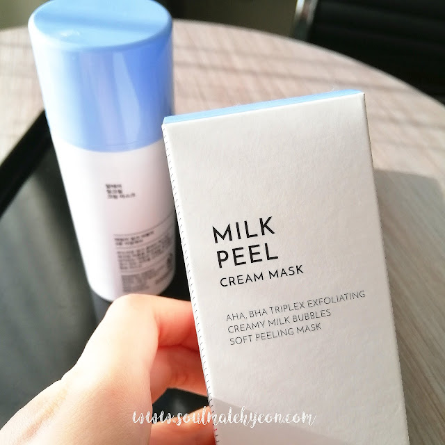 Review; Althea Korea's Milk Peel Cream Mask