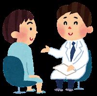 問診のイラスト(健康診断)
