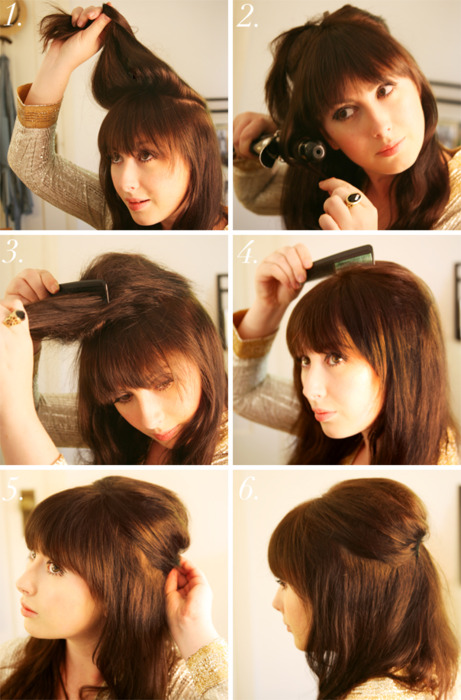 Superb How To Half Up Half Down Hairstyle More Hairstyles Hairstyles For Men Maxibearus