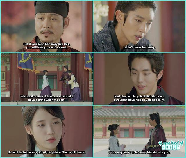 baek ah said goodbye to hae soo  - Moon Lovers Scarlet Heart Ryeo - Episode 19 (eng sub)