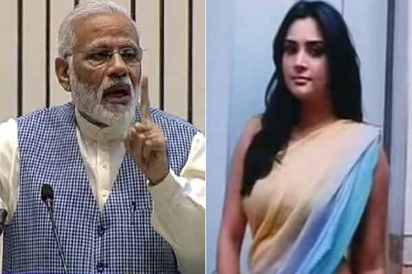 congress-leader-divya-spandana-ramya-told-pm-modi-ganjedi