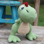 patron gratis dinosaurio amigurumi | free amigurumi pattern dinosaur