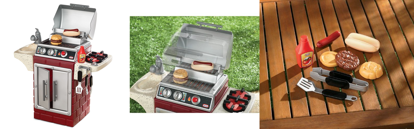 Head over to either Amazon, Target or Walmart and purchase this Little  Tikes Backyard Barbecue Get Out 'N Grill for $30.99! The original price was  $69.99. - $30.99 (Reg. $69.99) Little Tikes Backyard Barbecue Get Out 'N Grill