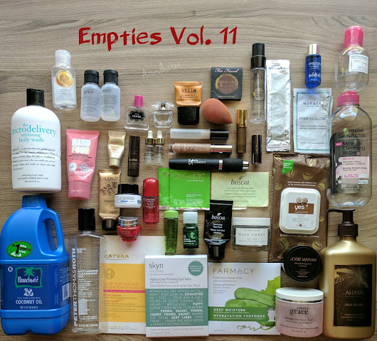 Products I've Used Up/Empties Vol. 11