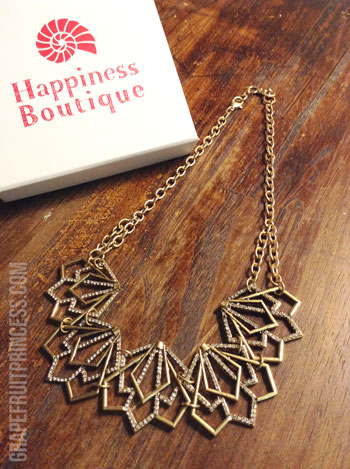 Jewelry, Statement Necklace, Happiness Boutique