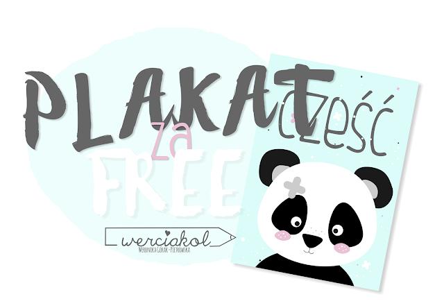 Pandzior plakat FREE