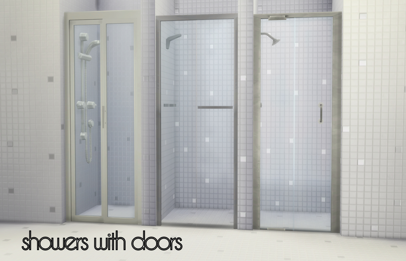 Sims 4 Cc S The Best Build A Shower Kit By Madhox