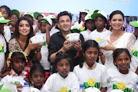 Shriya Saran and Meenakshi Dixit Pos at Quaker Feed A Child Campaign  0047.jpg