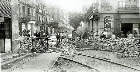 Resultat d'imatges de setmana trágica 1909