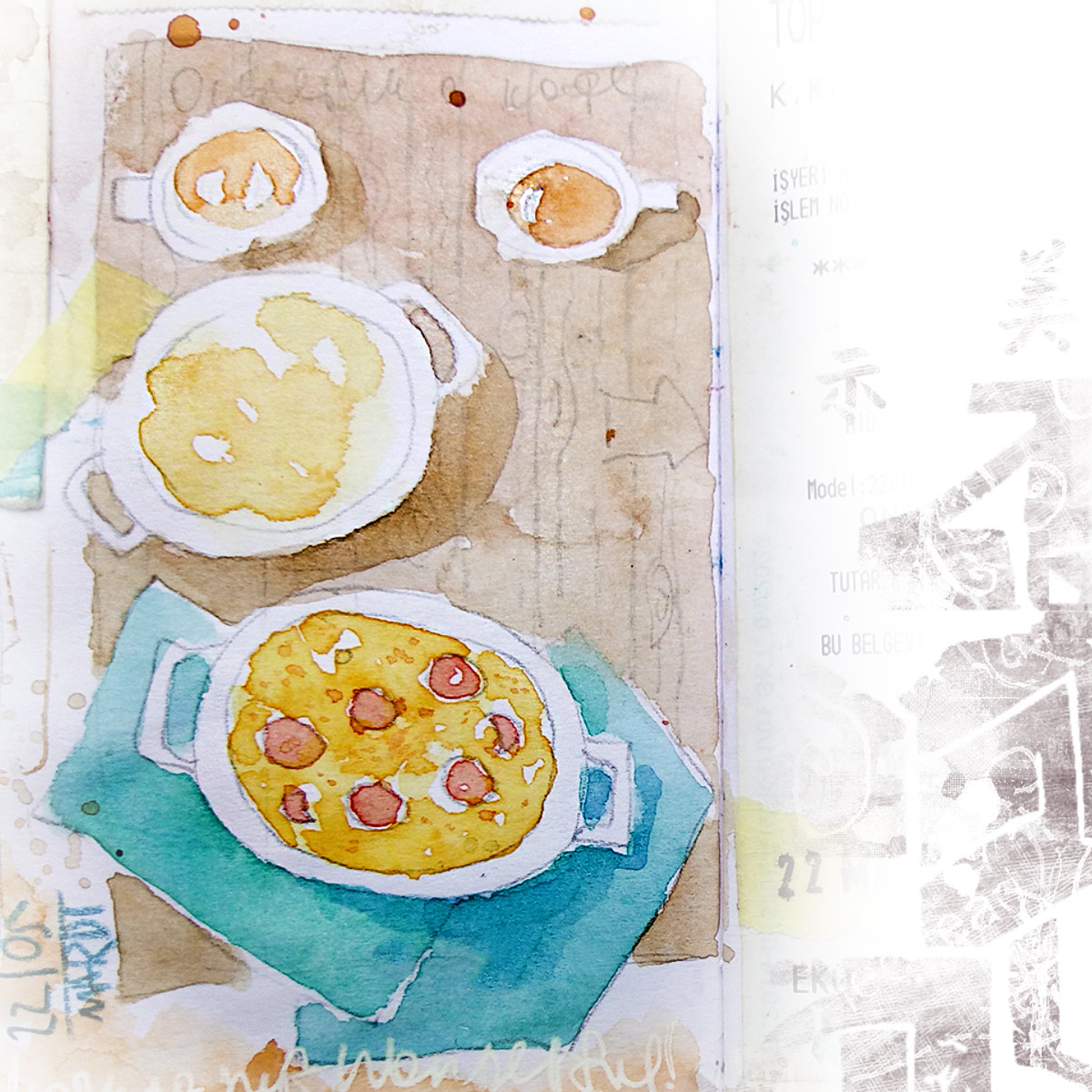 Istanbul sketch sketchbook watercolor travel blog стамбул наброски рисунки