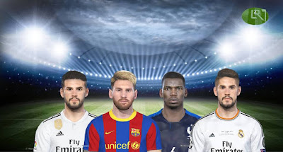PES 2018 Facepack v6 by LR7_Face