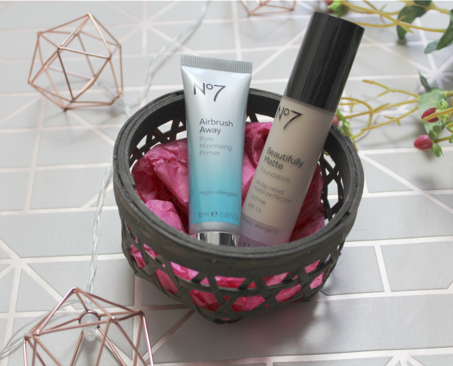 Affordable base makeup from No7 - www.nourishmeblog.co.uk