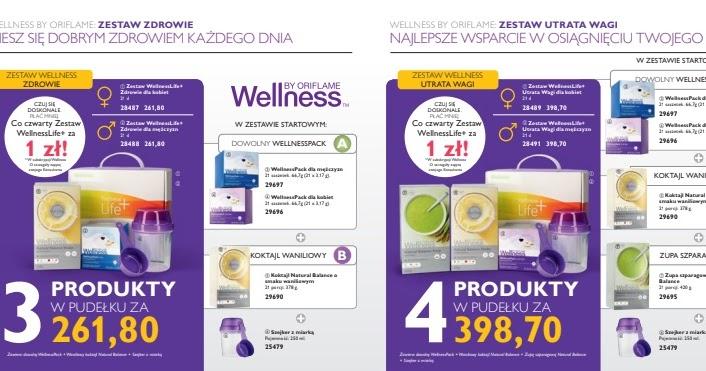 dieta wellness oriflame
