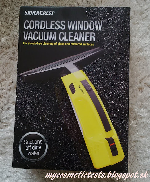 Čistič okien a zrkadiel SilverCrest Cordless Window Vacuum Cleaner