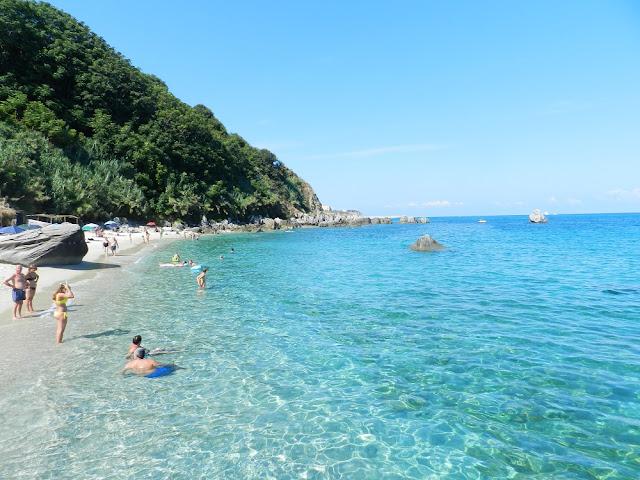 parghelia spiaggia del michelino calabria