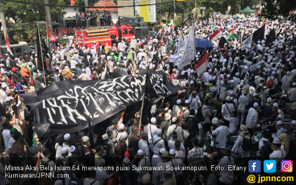 Bikin Salut, Ini Hebatnya Aksi Bela Islam 64