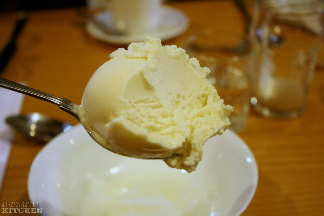 Famous Kilbeggan Whiskey Ice Cream at The Pantry Restaurant (inside the Kilbeggan Distillery)