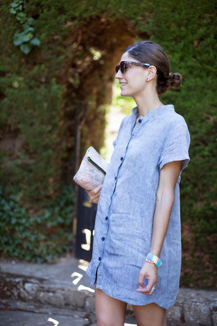 Camisola Marniel Blue B a la moda