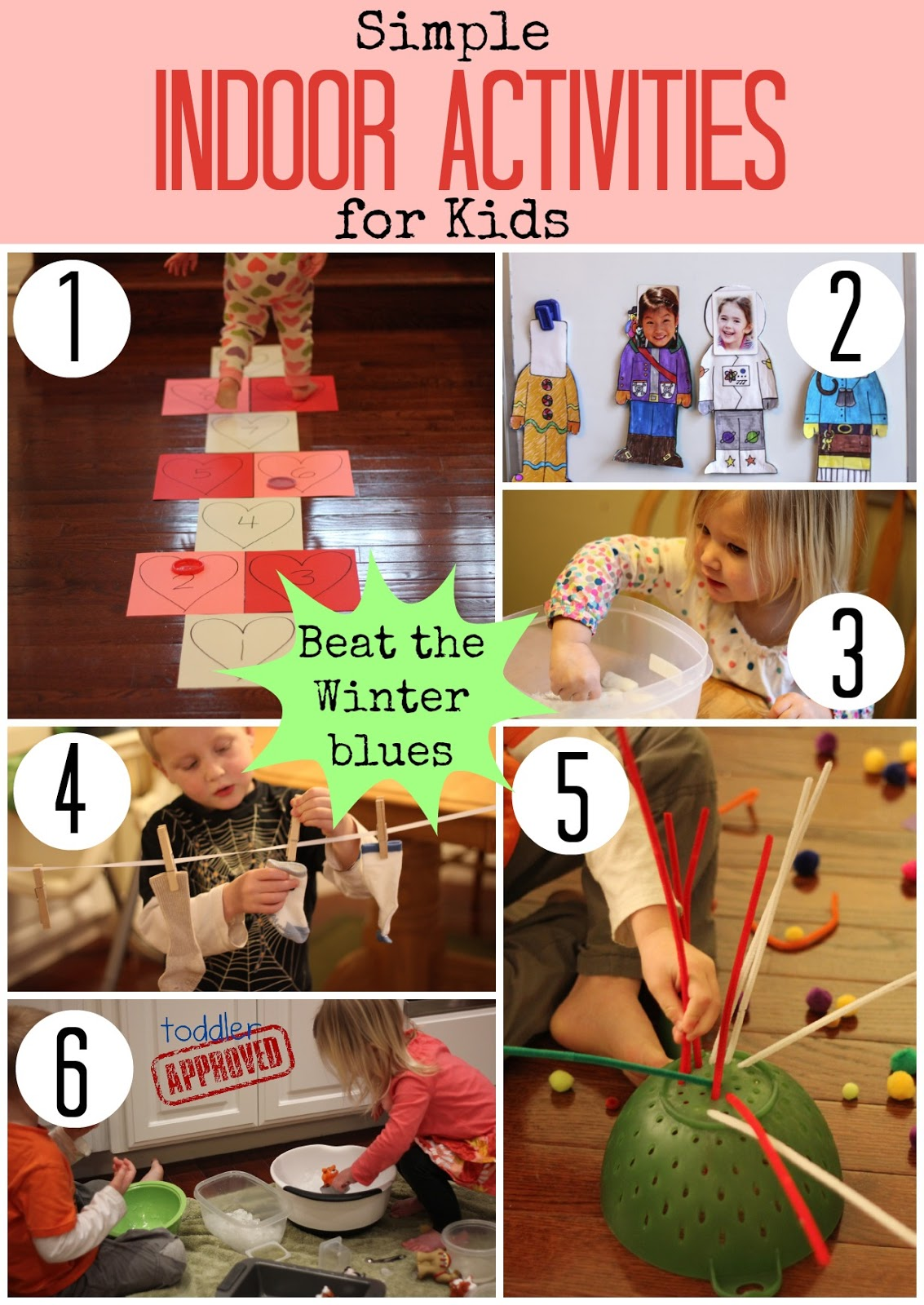 Toddler Approved Simple Indoor Activities For Kids