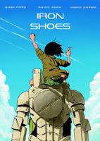 """Portada del cómic """"Iron Shoes"""", de Daniel Parra, Rafael Lindem y Andrés Garrido"""