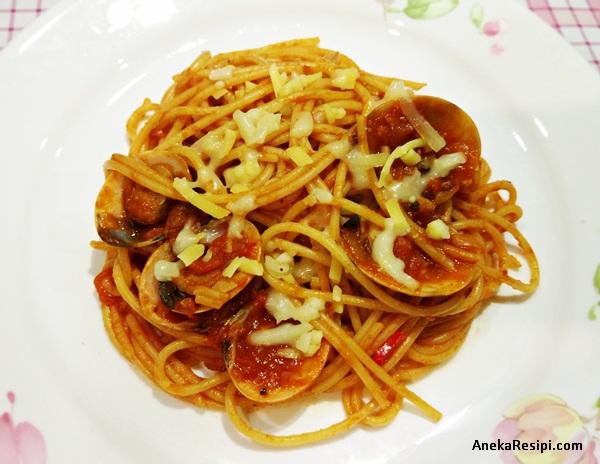 spaghetti marinara lala sos tomato