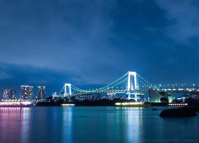 Odaiba Rainbow Bridge お台場レインボーブリッジ