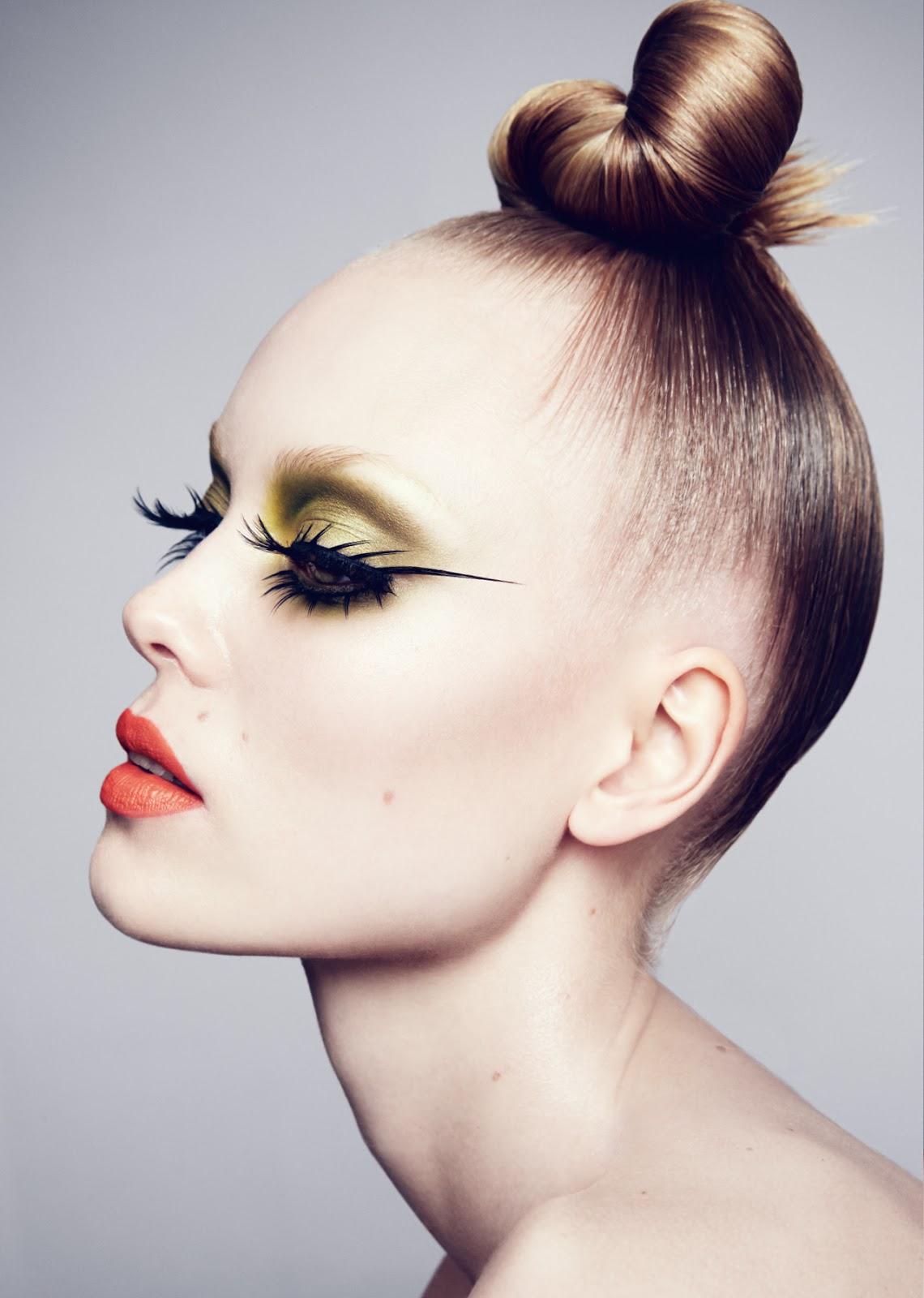 Makeup Photography: Hanna Hojman And Sofie Theobald By Benjamin Vnuk For NK