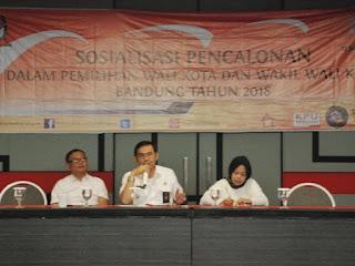Sosialisasi KPU Kota Bandung