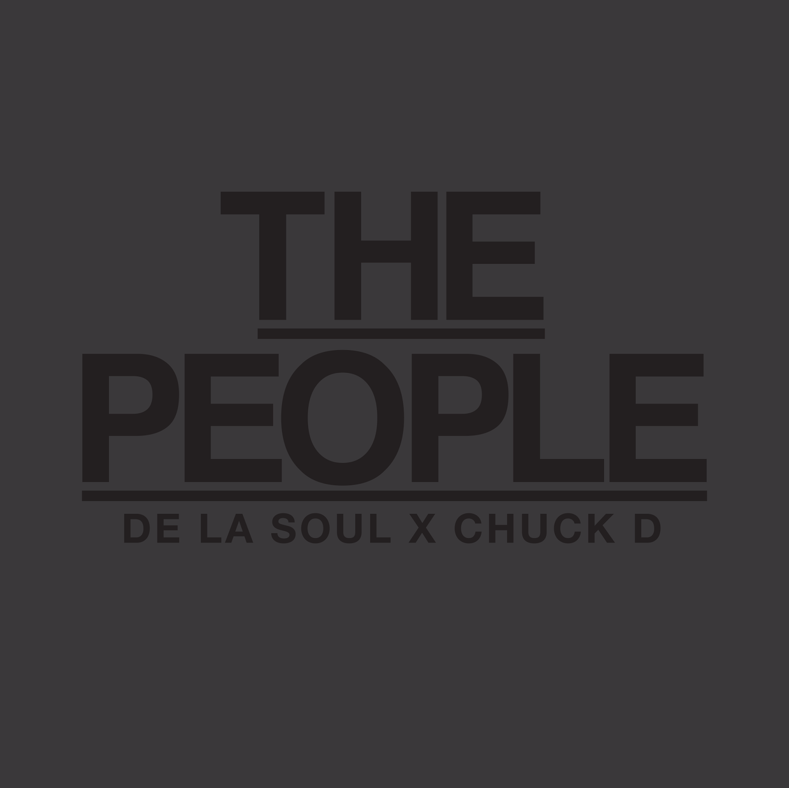 De La Soul x Chuck D  - The People ( Stream und Free Download )