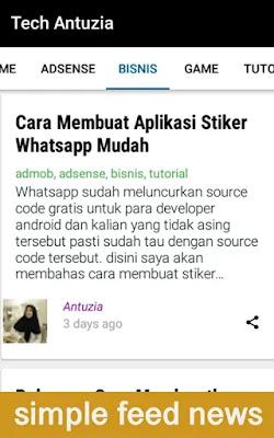 Cara Membuat Aplikasi Blog Android Mudah Dengan Android Studio