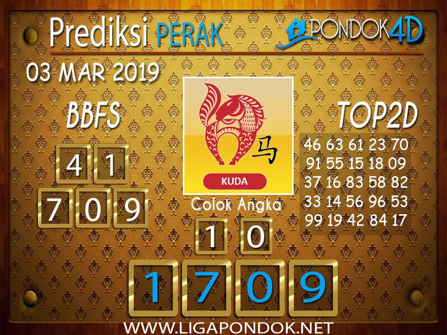 Prediksi Togel PERAK PONDOK4D 03 MARET 2019
