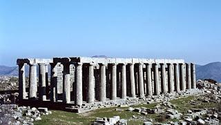 Τροχοπέδη από στην ανάπτυξη του Επικούριου Απόλλωνα στην Ηλεία