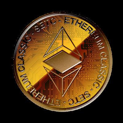 Ethereum Classicのフリー素材(銅貨ver)