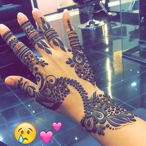 Henna Design for Fingers 2