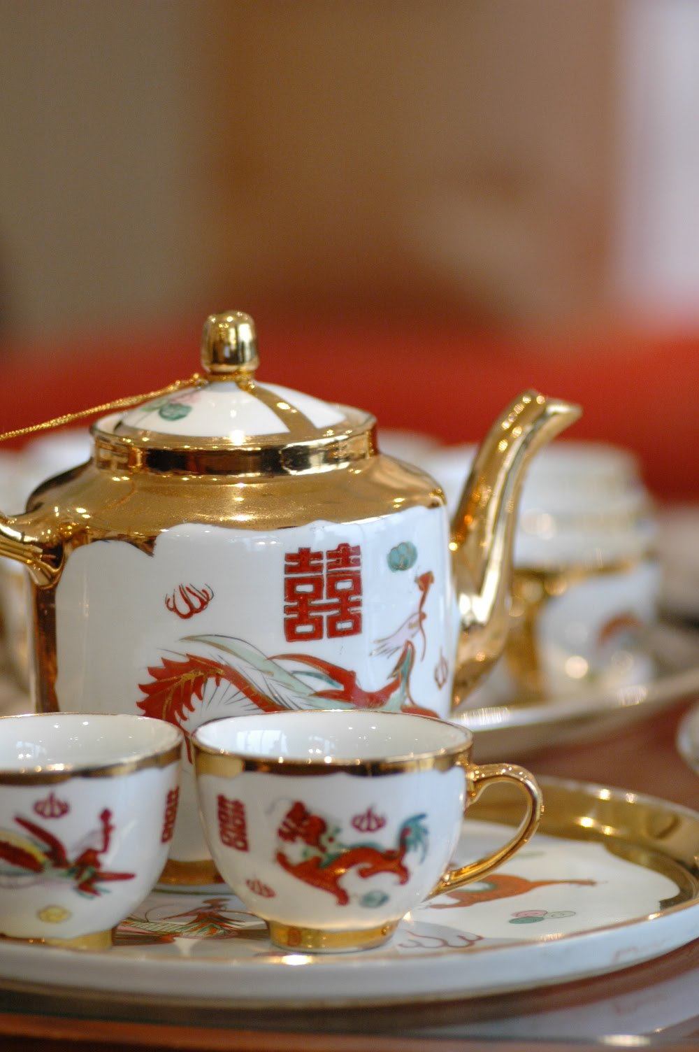 Wei Jien & Sue Lynn's Wedding: Wedding Tea Set