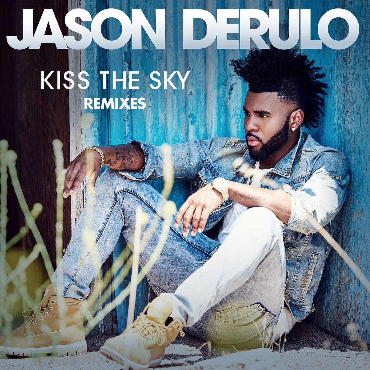 Jason Derulo - Kiss the Sky (Remixes) - Single Cover