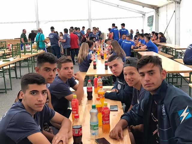 Παγκόσμια Αθλητική Συνάντηση Νέων στο Klagenfurt της Αυστρίας.