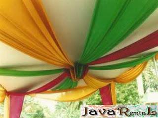 Sewa Tenda Semi Dekor - Penyewaan Tenda Semi Dekor Jakarta