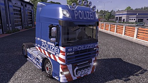 Polizei DAF skin
