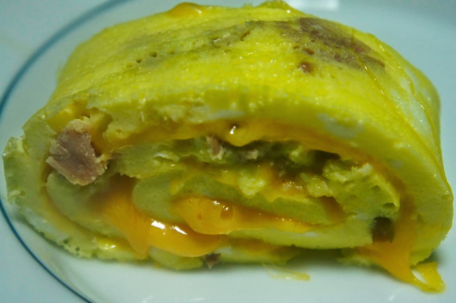 Omelette Roll Up: Savory Sweet and Satisfying