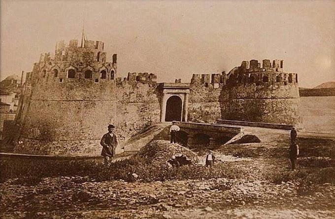 Το θρυλικό βενετσιάνικο κάστρο της Χαλκίδας.
