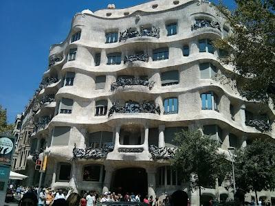 barcelona gaudia la pedrera