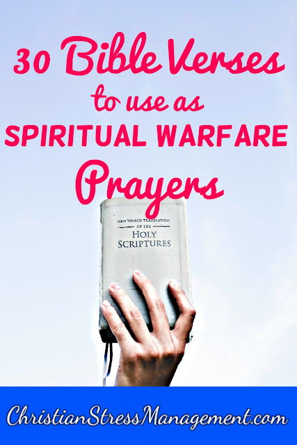30 Awesome Bible Verses to Use as Spiritual Warfare Prayers