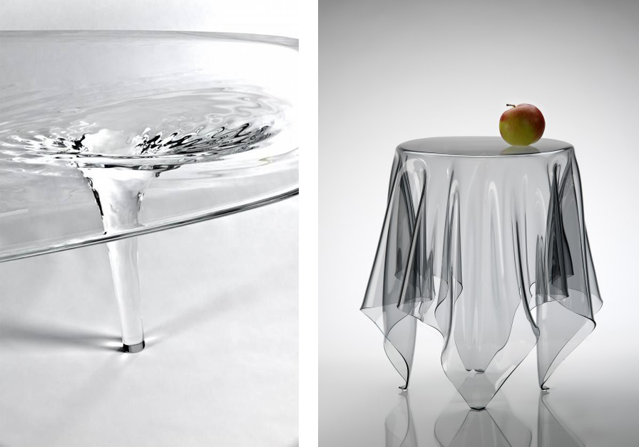 La fabrique d co le verre dans tous ses tats la d co - Nappe transparente pour table en verre ...