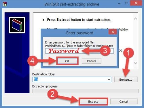 Password Protected Zip Folder Kaise Banaye — ZwiftItaly