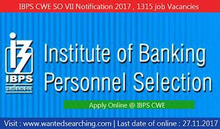 IBPS vacancies notification