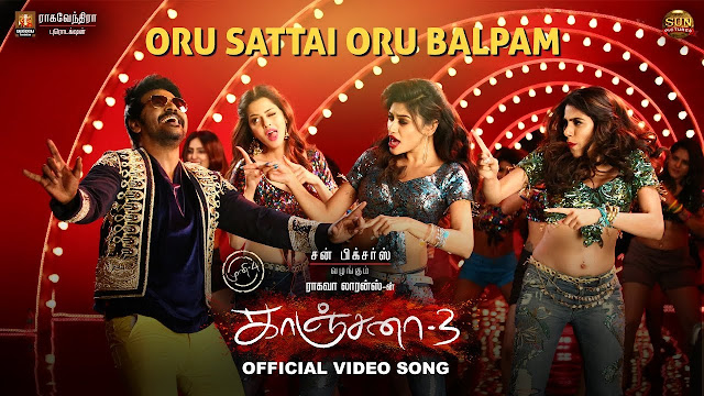 Oru Sattai Oru Balpam Song Lyrics From Kanchana 3