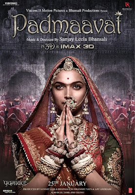 List Filem Bollywood Bulan Mei 2018, Bollywood Movie, Hindi Movie, Movie, Filem, Filem Bollywood, My Favorite, My Opinion, Simple Review, 2018, Padmaavat, Padmaavati, Kisah Raja - raja, Review By Miss Banu, Blog Miss Banu Story, Hindustan, Filem Sanjay Leela Bhansali, Filem Kontroversi Padmaavat, Filem India, Hindustan, Pelakon Filem Padmaavat, Deepika Padukone, Ranveer Singh, Shahid Kapoor, Aditi Rao Hydari, Jim Sarbh, Raza Murad, Anupriya Goenka, Padmaavat Cast,